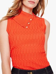 Damsel In A Dress Amelie Knit Top Red