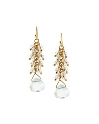 Emily And Ashley Beaded Dangle Earrings Clear