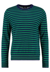 Paul Smith Ps By Jumper Blue Green Royal Blue