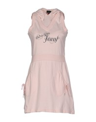 Calvin Klein Jeans Dresses Short Dresses Women Light Pink