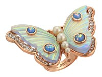 Betsey Johnson Butterfly Statement Ring White Ring