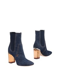 Christian Dior Ankle Boots Blue