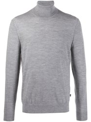 Michael Kors Relaxed Fit Roll Neck Jumper Grey