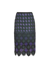 Erdem Safia Jacquard Pencil Skirt
