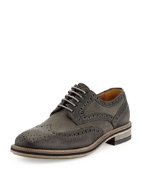 Modern Vintage Alwyn Lace Up Wingtip Shoe Black