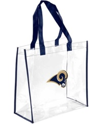 Forever Collectibles St. Louis Rams Clear Tote Bag