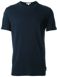 James Perse 'Troubadour' T Shirt Blue