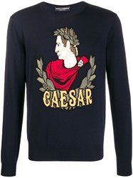 Dolce And Gabbana Ceaser Knit Jumper 60