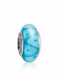 Pandora Design Pandora Charm Murano Glass And Sterling Silver Turquoise Looking Glass Moments Collection Turquoise Silver