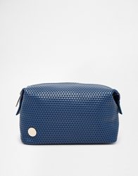 Mi Pac Perforated Navy Make Up Bag