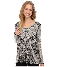 Nic Zoe Cityscape Top Multi Women's T Shirt
