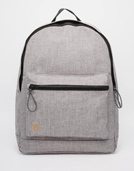 Farah Corwin Marl Backpack Grey