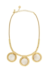 Kate Spade Polish Up Necklace Cream