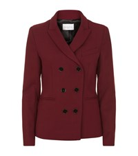 Sandro Gaudi Double Breasted Blazer Female Red