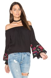 Vava By Joy Han Fayme Top Black