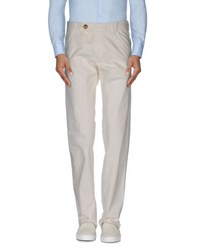 Barba Trousers Casual Trousers Men White