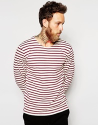 Wood Wood Harrison Long Sleeve Top Red