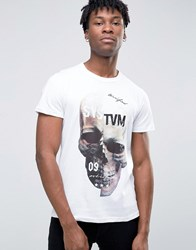 Systvm Shrine T Shirt White