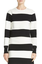 Tibi Women's Apres Ski Easy Pullover Sweater