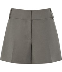 Reiss Lyla Tailored Shorts In Sage Green