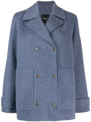 Theory Short Peacoat Blue
