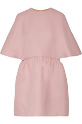 Valentino Silk Gazaar Mini Dress Pastel Pink