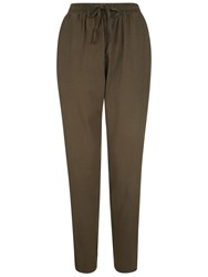 People Tree Tasha Jersey Trousers Green