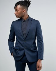 New Look Slim Suit Jacket In Navy Navy