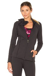 Beyond Yoga X Kate Spade Neck Bow Jacket Black