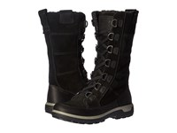 Ecco Gora Tall Boot Black Black Women's Hiking Boots