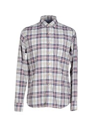 Replay Shirts Shirts Men Maroon