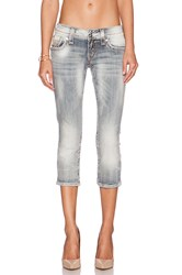 Rock Revival Jen Cropped Jean P103