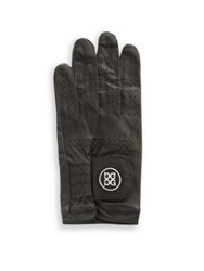 G Fore Leather Gloves Green Black Blue Charcoal
