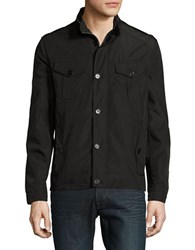 Cole Haan Packable Utility Jacket Black