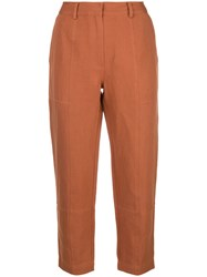 Apiece Apart High Waisted Tapered Trousers 60