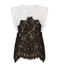 Sandro China Lace Top Female Black