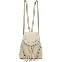 See By Chloe Beige Small Olga Backpack