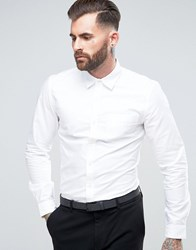 Rudie Smart Oxford Shirt White
