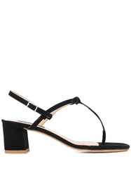 Fabio Rusconi Block Heel Sandals Black