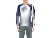 Paul Smith Ps By Men's Breton Striped Cotton Top Navy