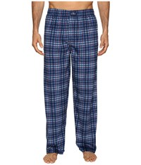 Jockey Matt Silky Fleece Pants Navy 1 Men's Pajama