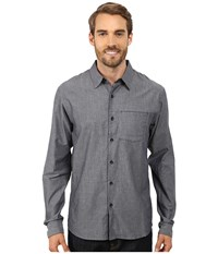 Arc'teryx Astute L S Shirt Denim Men's Long Sleeve Button Up Blue