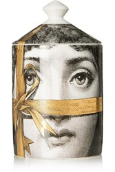 Fornasetti Regalo Gold Scented Candle Colorless