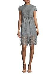 Romeo And Juliet Couture Back Tie Lace Dress Dusty Sage