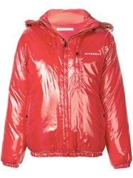 Givenchy Short Puffer Jacket Red