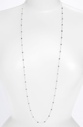 Ippolita Long Ball Necklace Sterling Silver