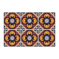 Images D'orient Set Of 6 Coasters Sejjadeh Sol