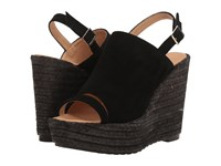 Cordani Entice Black Suede Women's Wedge Shoes