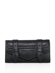 Proenza Schouler Ps1 Leather Continental Wallet Black