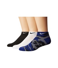 Nike Dri Fit Cushion Low Cut Socks 6 Pair Multicolor 1 Men's Low Cut Socks Shoes Black